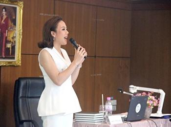"""""""การใช้ภาษาไทยในวิชาชีพผู้ประกาศข่าว"""""""